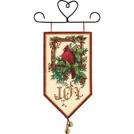 Cardinal Joy Mini Banner