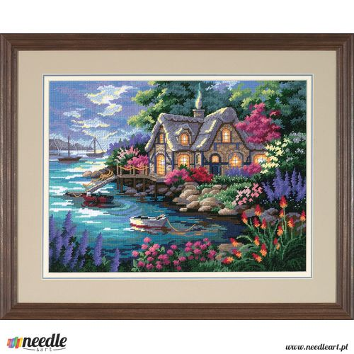 Cottage Cove – Printed Canvas