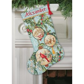 Enchanted Ornaments Stocking