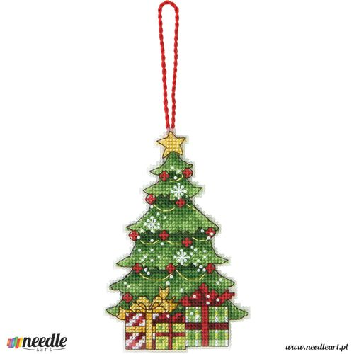 Tree Counted Cross Stitch Ornament
