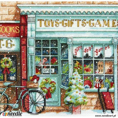 Toy Shoppe in Counted Cross Stitch