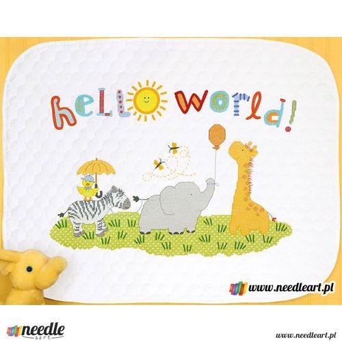 Hello World Quilt