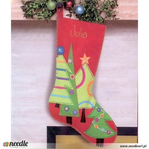 Festive Tree Stocking