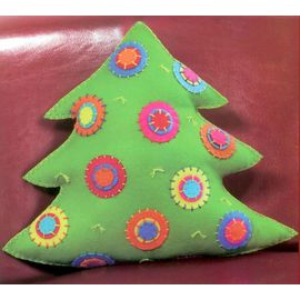 Colorful Tree Pillow