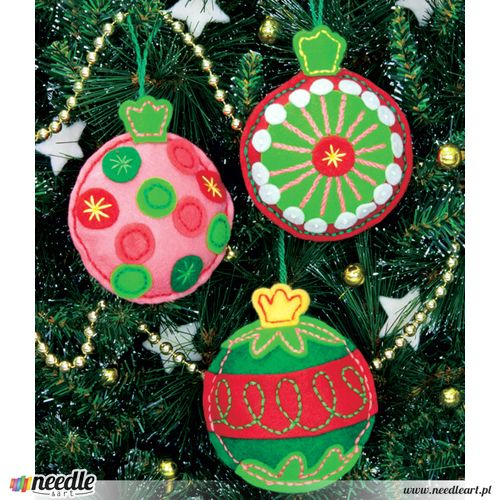 Simple Cheer Ornaments