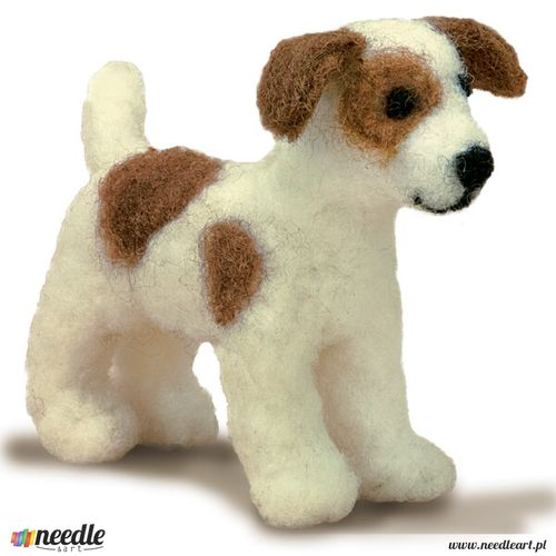 Dog Felted Character Needle Felting Kit