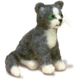 Cat Felted Character Needle Felting Kit
