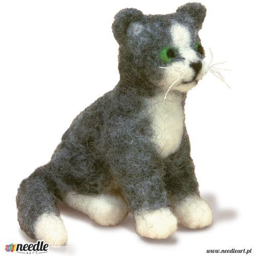 Wspaniały Kot - Filcowe Zabawki OP61