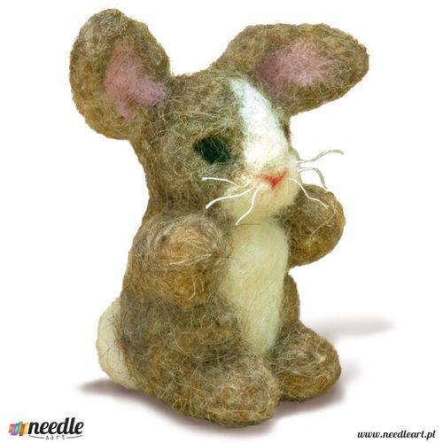 Bunny Felted Character Needle Felting Kit