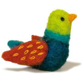Bird Felted Character Needle Felting Kit