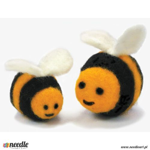 Round & Wooly Bees