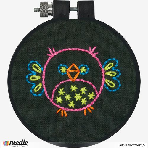 Bird in Embroidery
