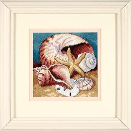 Shell Collage - Canvas with Full Color Print