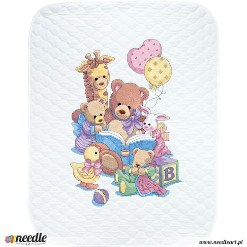 Teddy and Friends Quilt