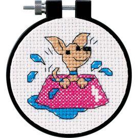 Perky Puppy - Beginner Cross Stitch Kit