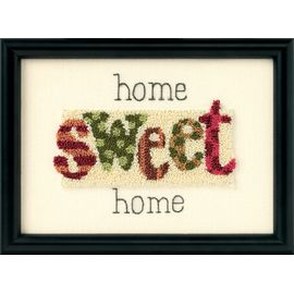 Home Sweet Home – Punch Needle