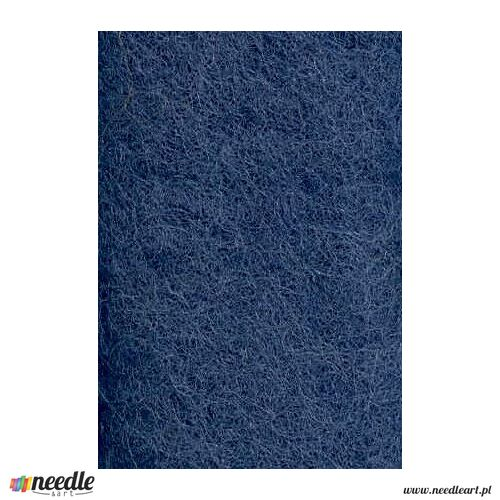 Wool Felt - Midnight Blue Felt