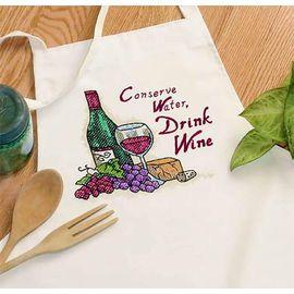 Drink Wine Apron