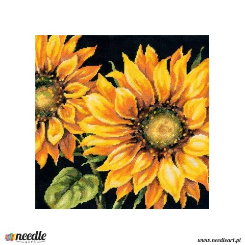 Dimensions Dramatic Sunflower Needlepoint Kit