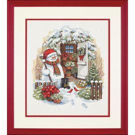 Garden Shed Snowman