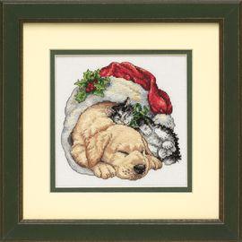 Christmas Morning Pets