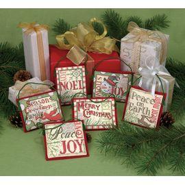 Christmas Sayings Ornaments