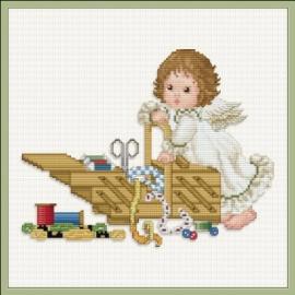Stitching Angel with Workbox - Chart