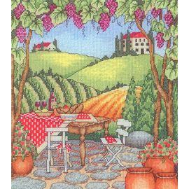 Piknik w Toskanii  – Wzór
