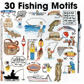 30 Fishing Motifs