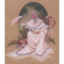 Indiańska Szamanka – Wzór