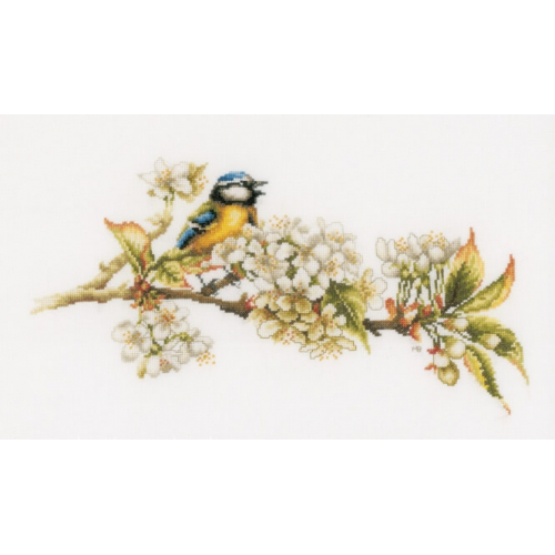 Blue Tit - Cross Stitch Kit