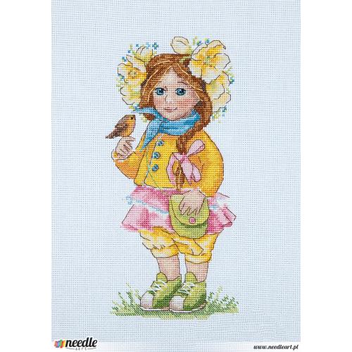 Wiosenna Dziewczynka