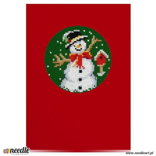 Greetings from Snowman - Postcard