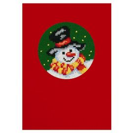 Snowman - Postcard