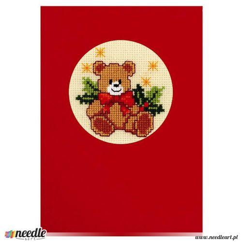 Christmas Teddy Bear - Postcard