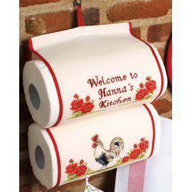 Rooster - Kitchen Towel Holder