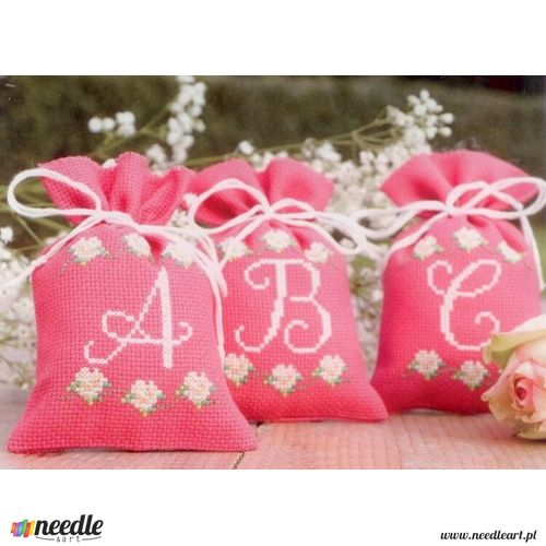Roses ABC - Bag for Herbal