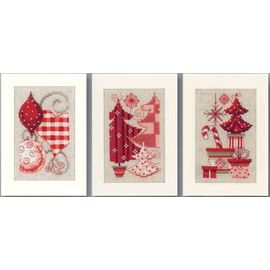3 Greeting Cards With Envelopes
