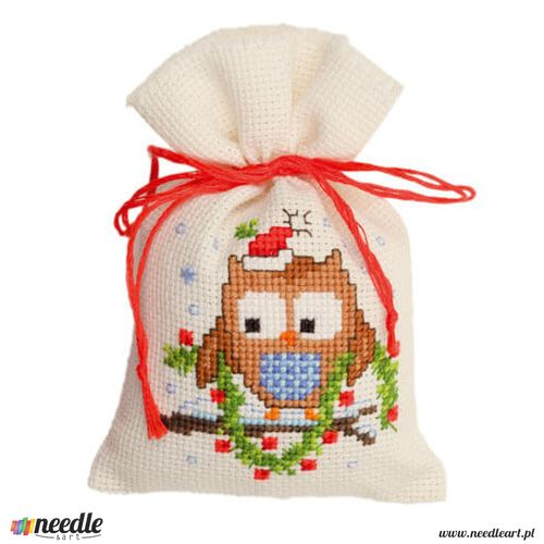 Owlet With a Garland