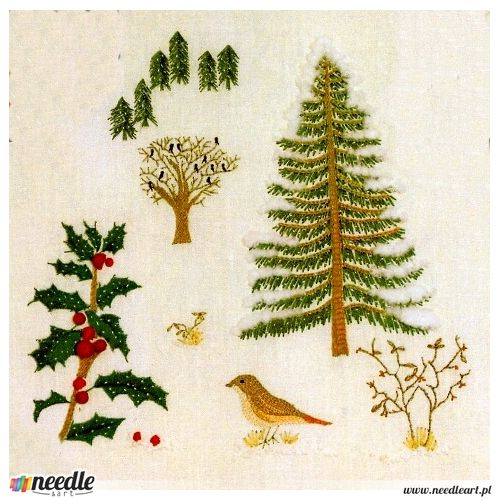 Winter - Different Types of Embroidery